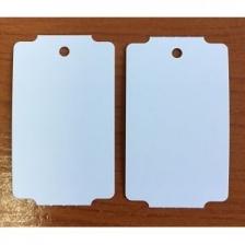 Бирка (ярлык) 30 x 50,8 (1000 шт.) пластиковая, 180 мкм