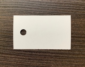 Бирка (ярлык) 55 x 33 (1000 шт.) пластиковая, 180 мкм
