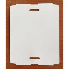 Бирка высокотемпературная до 310°C (ярлык) 80 x 100 (1000 шт.) полиамидная