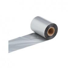 Термотрансферная лента смола СЕРЕБРО Resin X-Foil Silver 40 мм / 300 м, OUT