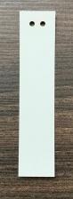 Бирка (ярлык) 20 x 93 (1000 шт.) пластиковая, 180 мкм