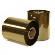 Термотрансферная лента смола ЗОЛОТО Resin X-Foil Gold 40 мм / 300 м, OUT