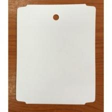 Бирка высокотемпературная, до 230°C (ярлык) 90 x 110 (1000 шт.) полиэстеровая, 175 мкм