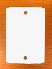 Бирка высокотемпературная, до 230°C (ярлык) 92 x 133 (1000 шт.) полиэстеровая, 175 мкм