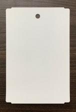 Бирка (ярлык) 110 x 165 (1000 шт.) пластиковая усиленная, с 1 отверстием, 175 мкм