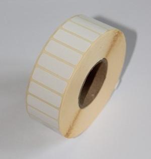 Термотрансферные этикетки 12 мм х 5 мм, полуглянцевая, (цена за 1 тыс. шт.)