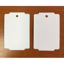 Бирка (ярлык) 34 x 50,8 (1000 шт.) пластиковая, 180 мкм