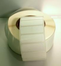 Этикетки полипропиленовые 20 мм х 10 мм, (цена за 1 тыс. шт.)