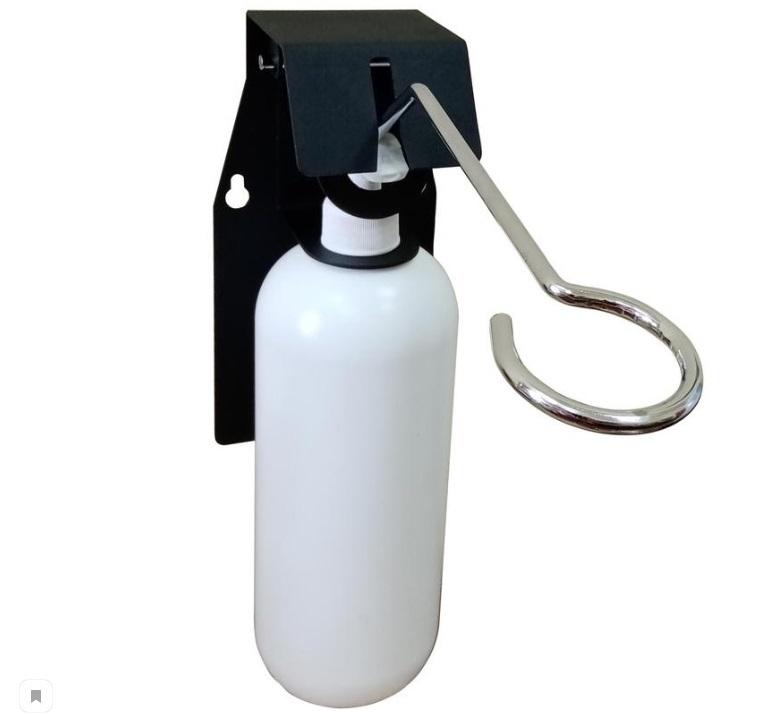 Дозатор антисептика локтевой настенный держатель + флакон 1000мл.