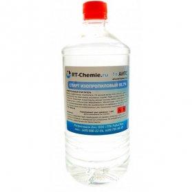 Спирт изопропиловый абсолютированный (АИПС), ПВХ, флип-топ, 1л