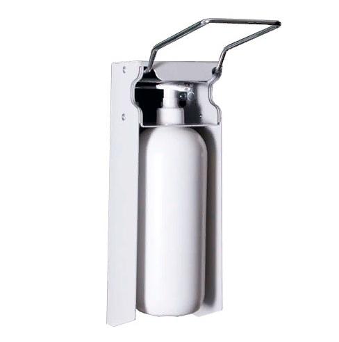 Дозатор антисептика локтевой настенный держатель DAN-4 +флакон 1000мл