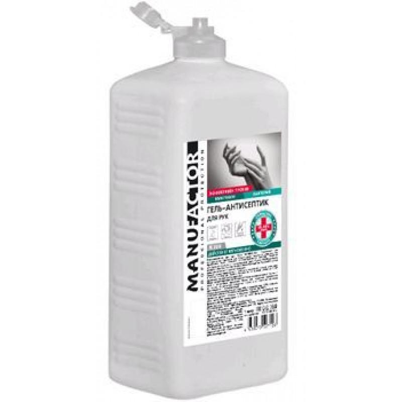 N308 Гель-антисептик для рук MANUFACTOR, ПВХ, флип-топ, 1 л