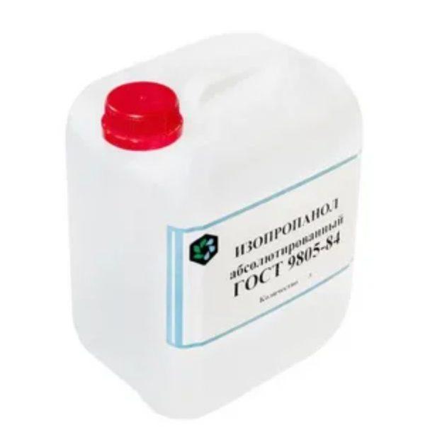 Спирт изопропиловый абсолютированный (АИПС), ПВХ, 5 л